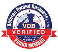 Proud Verified Veteran Owned Business Member!