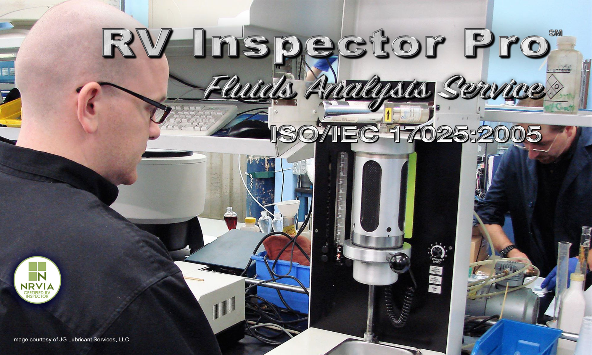 Ask for the RV Inspector Pro Fluid Analysis Service.